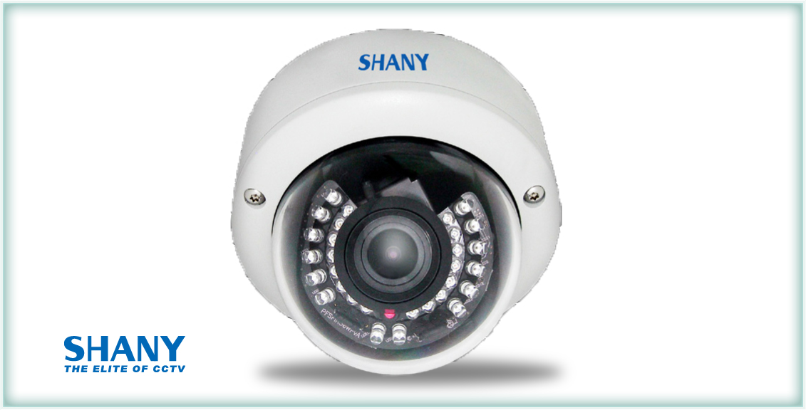 W DR IP Dome Camera 2.0 Megapixel SHANY