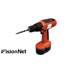 Cordless Driver/Drill, Adaptor: 220VCA, Plug: 2P Round Type