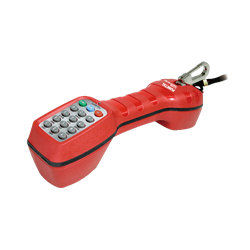 Instrument for testing telephone lines red TCT-1900-RD