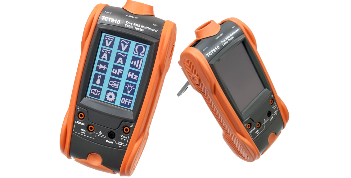 Multi Function DMM and Cable Testers