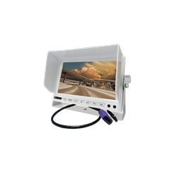 "TFT 9"" LCD Monitor , With HDMI & RCA Connection,  White Color"