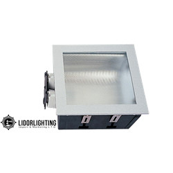 Recessed square  DJ 2XPLC 20X20R