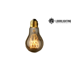 UF17601 - PS60 - 60W Classic filament carbon bulb - Clear