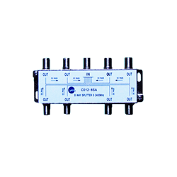 Satellite and cable splitter 8 inputs