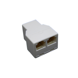 American Telephone Splitter Female to 2 Female