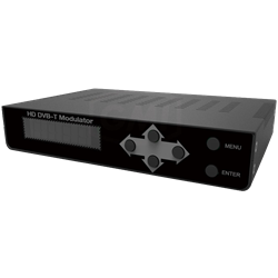 DVB-T Modulator 1080p with IR Return
