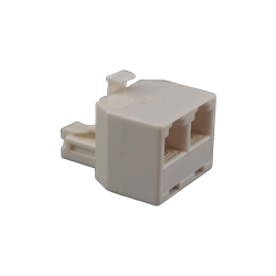 Telephone Splitter RJ 11 Male to Two RJ 11 Female