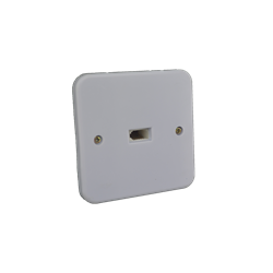 Face Plate with One UK Socket inside the wall