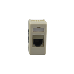 FTP Cat5e RJ-45 Keystone Jack Gewiss Plate White Box