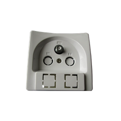 Wall Outlet TV Terminal Sat including plastic cover