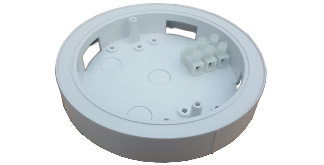 Ceiling wire connection box/bracket  GS450 for 220vac smoke detector GS518