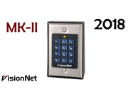 alternative - Access Control Keypad Simple Silver MK-II