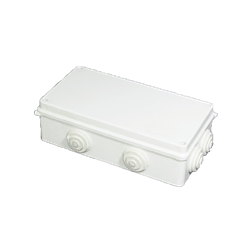 Junction Box with Rubber Glands 200x100x70