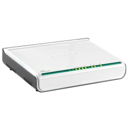 ADSL2 Modem Router has four ports D840R
