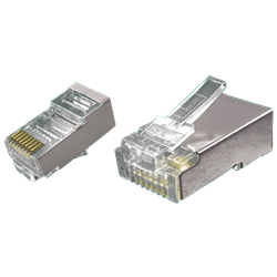 Shielded RJ45 Connector cat5e FTP