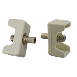 Gypsum satellite socket box F-JACK