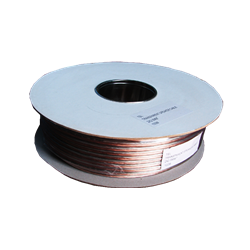 Speaker Cable 100M 2X0.75 White a drum