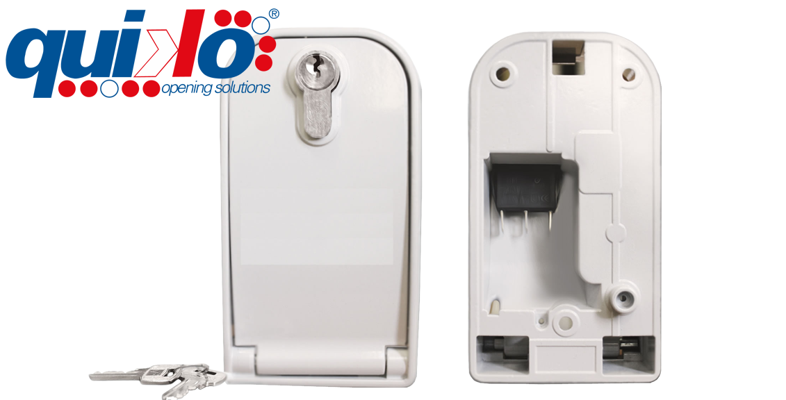 Armored Wall Mount Key Switch, QK - ARMO