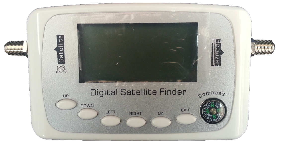 Digital Satellite Finder with Compass